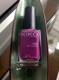 Mes petites nouveautés Kiko : Prune 316