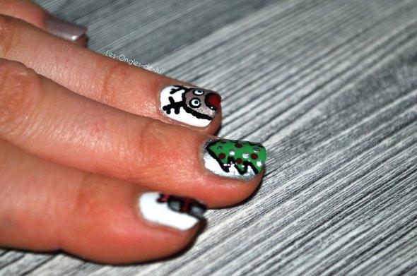 nail art Noël 3