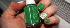 nail art trèfles (1)