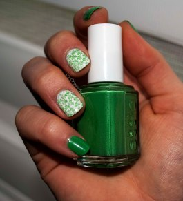 nail art trèfles (6)