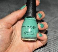 SinfulColors Mint Apple