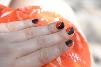 Orange&noir